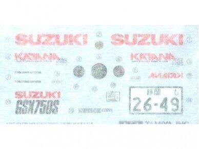 Tamiya - Suzuki GSX750S new KATANA, Mastelis: 1/12, 14034 15