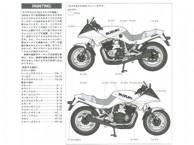 Tamiya - Suzuki GSX750S new KATANA, Mastelis: 1/12, 14034 16