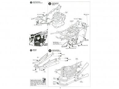 Tamiya - Suzuki GSX750S new KATANA, Mastelis: 1/12, 14034 8