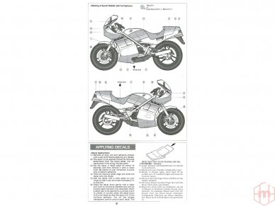 Tamiya - Suzuki RG250Γ with Full Options, Mastelis: 1/12, 14029 15
