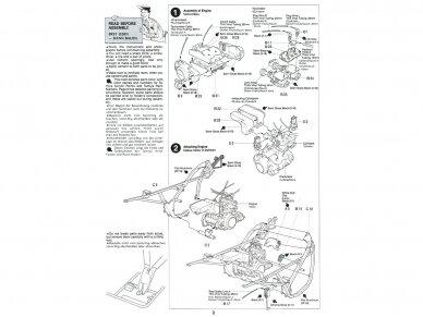 Tamiya - Suzuki RG250Γ with Full Options, Mastelis: 1/12, 14029 4