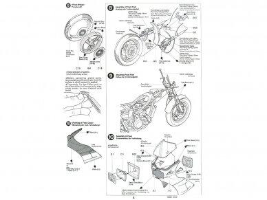 Tamiya - Suzuki RG250Γ with Full Options, Mastelis: 1/12, 14029 7