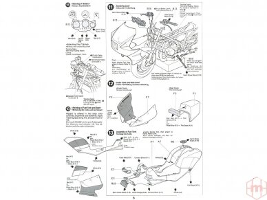Tamiya - Suzuki RG250Γ with Full Options, Mastelis: 1/12, 14029 8