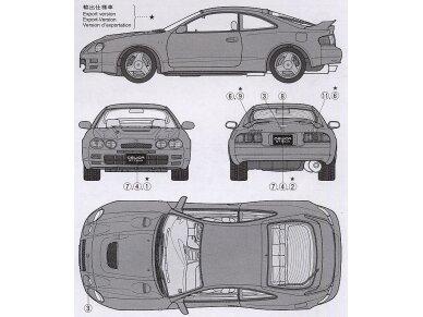 Tamiya - Toyota Celica GT-Four, 1/24, 24133 7