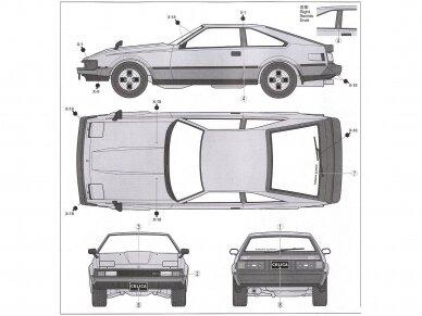 Tamiya - Toyota Celica XX 2800GT, Mastelis: 1/24, 24021 6
