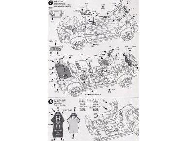 Tamiya - Toyota Corolla WRC, Mastelis: 1/24, 24209 11