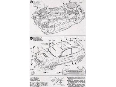 Tamiya - Toyota Corolla WRC, Mastelis: 1/24, 24209 14