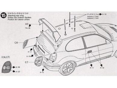 Tamiya - Toyota Corolla WRC, Mastelis: 1/24, 24209 15