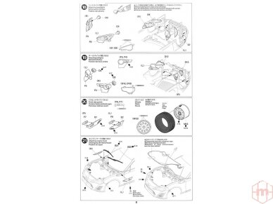 Tamiya - Toyota GAZOO Racing TRD GT86 2013 TRD Rally challenge + carbon, Mastelis: 1/24, 24337 18