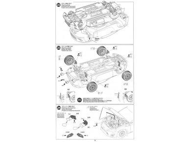 Tamiya - Toyota GAZOO Racing TRD GT86 2013 TRD Rally challenge + carbon, Mastelis: 1/24, 24337 19