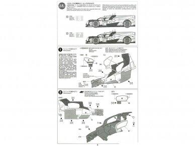 Tamiya - TOYOTA GAZOO Racing TS050 Hybrid, Mastelis: 1/24, 24349 11