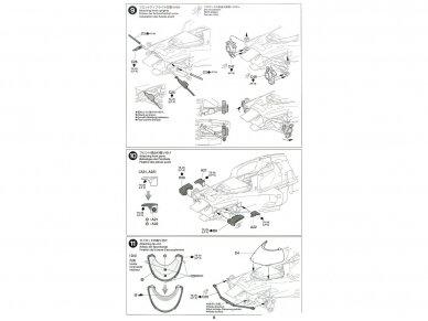 Tamiya - TOYOTA GAZOO Racing TS050 Hybrid, Mastelis: 1/24, 24349 14