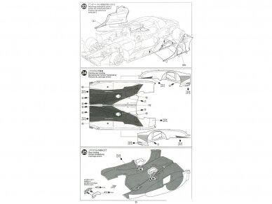 Tamiya - TOYOTA GAZOO Racing TS050 Hybrid, Mastelis: 1/24, 24349 19