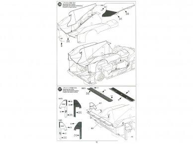 Tamiya - TOYOTA GAZOO Racing TS050 Hybrid, Scale: 1/24, 24349 20
