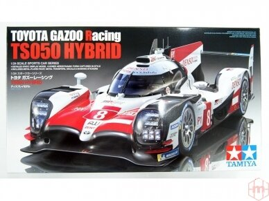 Tamiya - TOYOTA GAZOO Racing TS050 Hybrid, Scale: 1/24, 24349