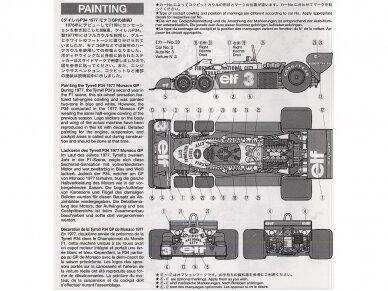 Tamiya - Tyrrell P34 1977 Monaco GP, Mastelis: 1/20, 20053 9