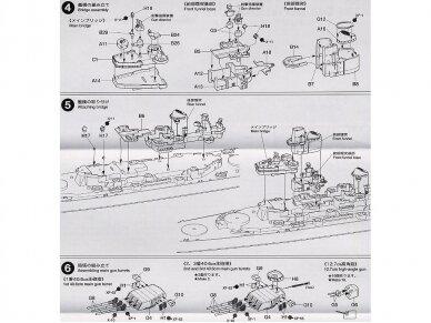 Tamiya - U.S. Battleship Missouri, Mastelis: 1/700, 31613 12