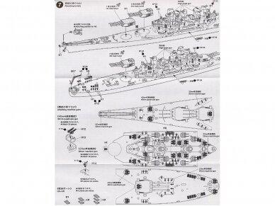 Tamiya - U.S. Battleship Missouri, Mastelis: 1/700, 31613 13