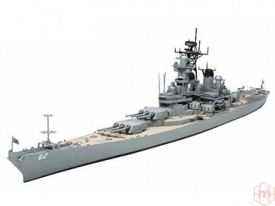 Tamiya - U.S. Battleship New Jersey, Mastelis: 1/700, 31614 2