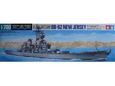 Tamiya - U.S. Battleship New Jersey, Mastelis: 1/700, 31614