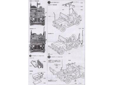 Tamiya - US M151A2 Ford Mutt, Mastelis: 1/35, 35123 11
