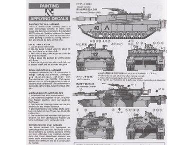 Tamiya - U.S. M1A1 Abrams, Mastelis: 1/35, 35156 9