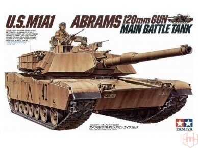 Tamiya - U.S. M1A1 Abrams, Mastelis: 1/35, 35156