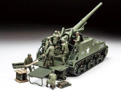 Tamiya - U.S. Self-Propelled 155mm Gun M40, Mastelis: 1/35, 35351 2
