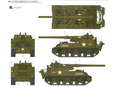 Tamiya - U.S. Self-Propelled 155mm Gun M40, Mastelis: 1/35, 35351 11