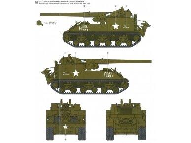 Tamiya - U.S. Self-Propelled 155mm Gun M40, Mastelis: 1/35, 35351 12