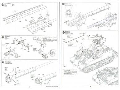 Tamiya - U.S. Self-Propelled 155mm Gun M40, Mastelis: 1/35, 35351 21
