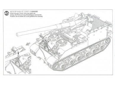 Tamiya - U.S. Self-Propelled 155mm Gun M40, Mastelis: 1/35, 35351 23