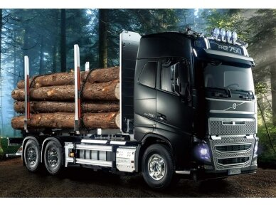 Tamiya - Volvo FH16 Globetrotter 750 6x4 Timber Tr, Scale: 1/14, 56360