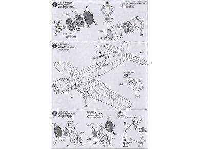 Tamiya - Vought F4U-1A Corsair, Mastelis: 1/72, 60775 11