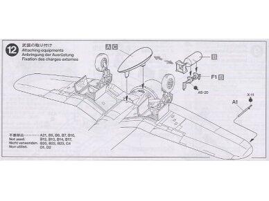 Tamiya - Vought F4U-1A Corsair, Mastelis: 1/72, 60775 13