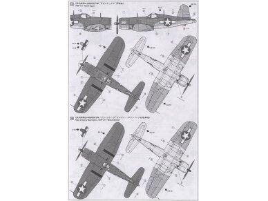 Tamiya - Vought F4U-1A Corsair, Mastelis: 1/72, 60775 7
