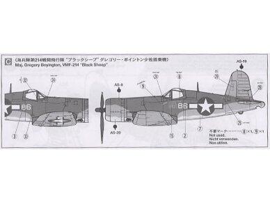 Tamiya - Vought F4U-1A Corsair, Mastelis: 1/72, 60775 8