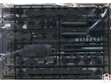 Tamiya - Westl German Leopard 1 A4 Tank, Mastelis: 1/35, 35112 3