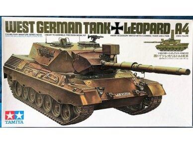 Tamiya - Westl German Leopard 1 A4 Tank, Mastelis: 1/35, 35112