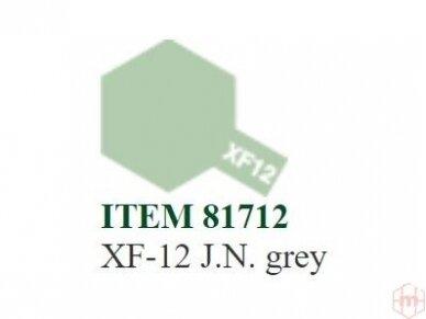 Tamiya - XF-12 J.N. grey, 10ml