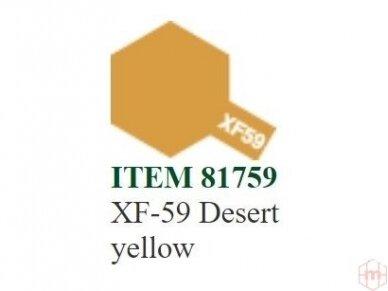 Tamiya - XF-59 Desert yellow, 10ml