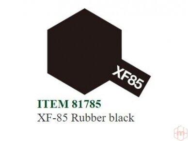 Tamiya - XF-85 Rubber black, 10ml