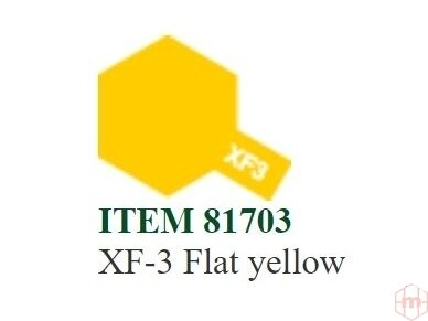 Tamiya - XF- Flat acrylic Mini paint, 10ml 5