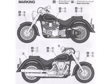 Tamiya - Yamaha XV1600 RoadStar Custom, Mastelis: 1/12, 14135 7