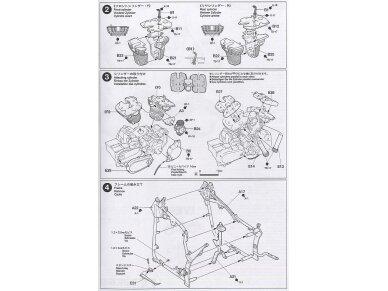 Tamiya - Yamaha XV1600 Roadstar, Mastelis: 1/12, 14080 15