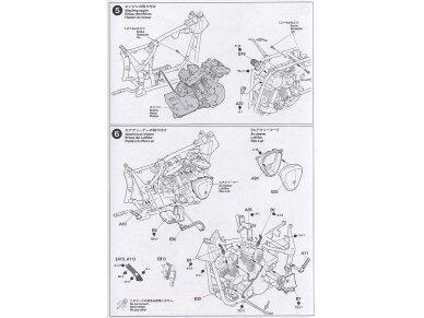 Tamiya - Yamaha XV1600 Roadstar, Mastelis: 1/12, 14080 16