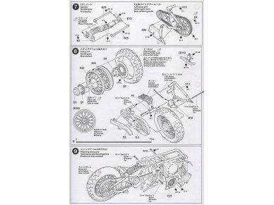 Tamiya - Yamaha XV1600 Roadstar, Mastelis: 1/12, 14080 17