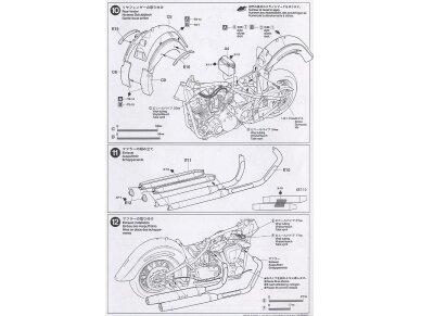 Tamiya - Yamaha XV1600 RoadStar Custom, Mastelis: 1/12, 14135 12