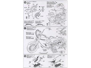 Tamiya - Yamaha XV1600 RoadStar Custom, Mastelis: 1/12, 14135 14