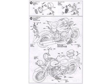 Tamiya - Yamaha XV1600 Roadstar, Mastelis: 1/12, 14080 21